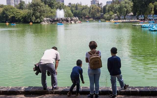 Las aguas se utilizan para dotar lagos como el de Chapultepec, fuentes y jardines públicos. FOTO: TERCERO DÍAZ /CUARTOSCURO.COM