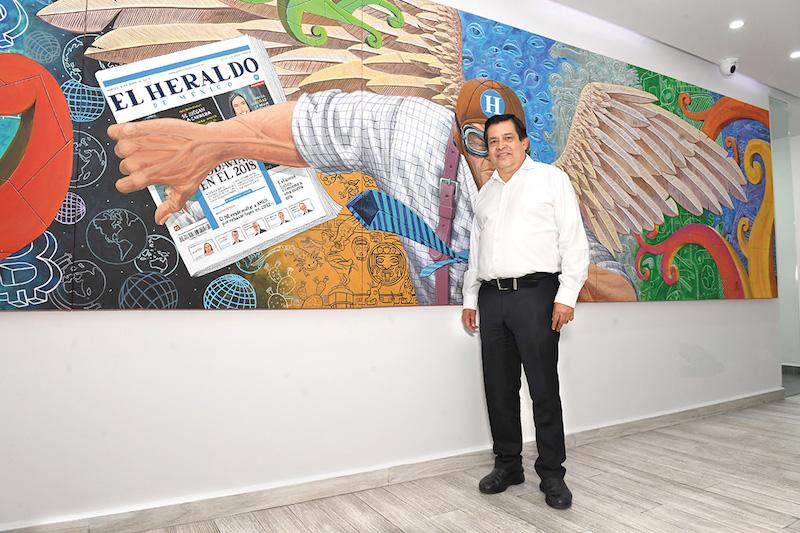 Empresas en el municipio tienen presencia nacional e internacional, dice alcalde de Nezahualcóyotl. Foto Pablo Salazar Solís / Heraldo de México.