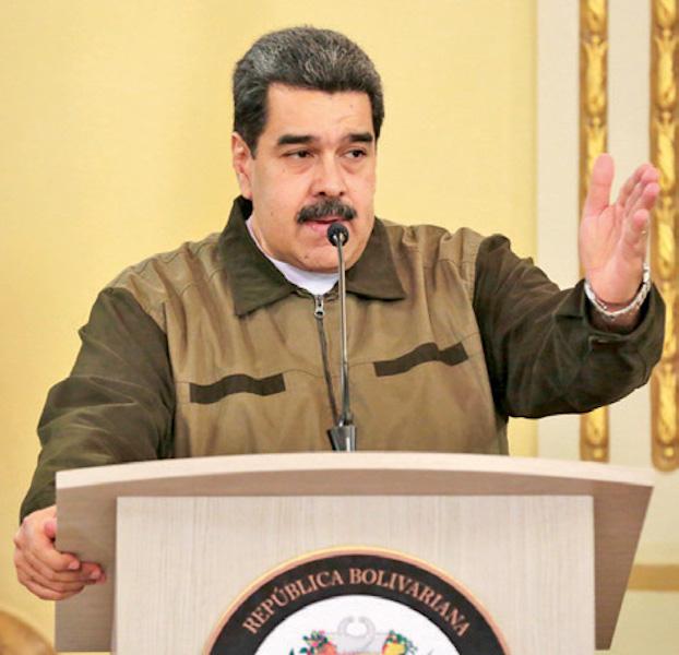 Es la primera vez que Maduro pide asistencia. Foto: AFP