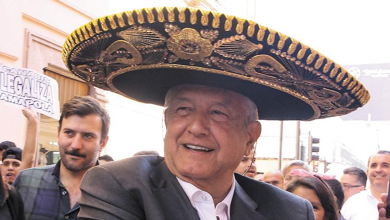El presidente electo, López Obrador, ha recibido solicitudes para legalizar la amapola. FOTO: GUSTAVO BECERRA /CUARTOSCURO.COM