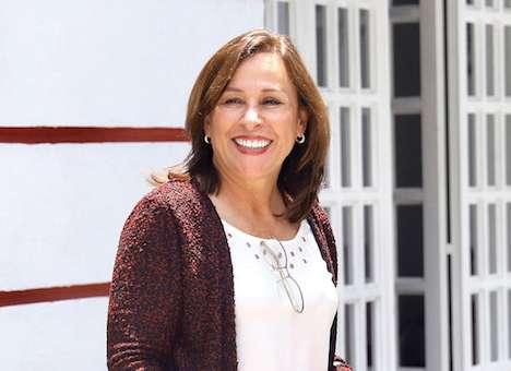 Rocío Nahle busca hacer más eficiente la plataforma petrolera. Foto: Víctor Gahbler / El Heraldo de México.