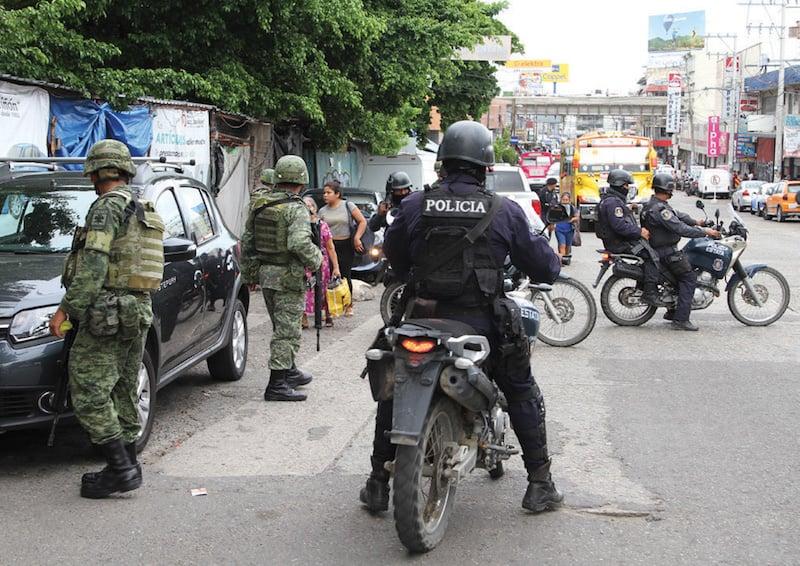 El Ejército y las fuerzas civiles de seguridad trabajarán en una misma corporación, según el proyecto del Presidente electo. Foto: Cuartoscuro