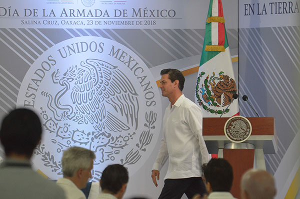 En los últimos días de su gobierno, el presidente, Enrique Peña Nieto, ha destacado los compromisos cumplidos en su sexenio.  FOTO: CUARTOSCURO