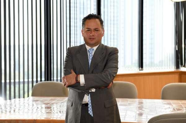 Santiago Nieto, titular de la Unidad de Inteligencia Financiera. FOTO. ESPECIAL
