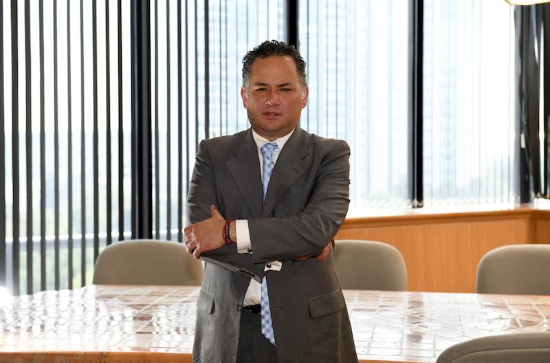Santiago Nieto, próximo titular de la Unidad de Inteligencia Financiera. Foto Pablo Salazar Solís / El Heraldo de México