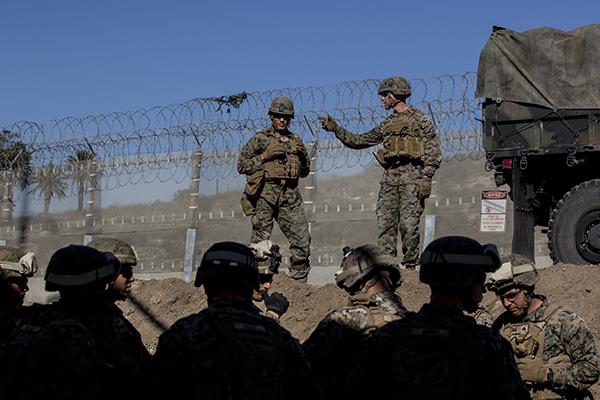 El general Jeffrey Buchanan indicó que regresarán los primeros soldados. FOTO: CUARTOSCURO