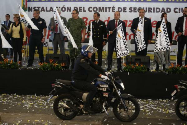 Moreno Rivera advirtió que no va a bajar el índice delictivo, si no existe coordinación en los tres órdenes de gobierno Foto: Especial