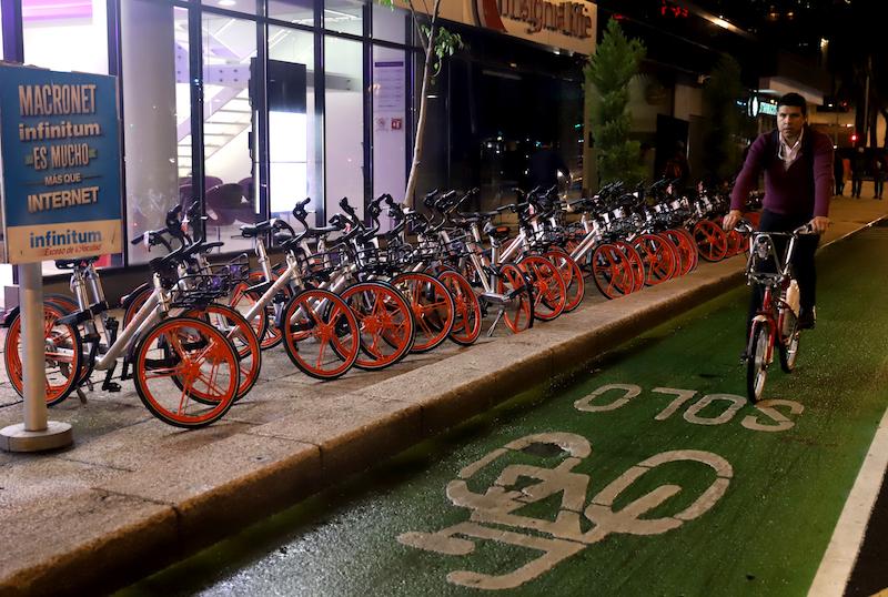 Nueva administración de CDMX herada plan bikefriendly. Foto: Víctor Gahbler / El Heraldo de México.