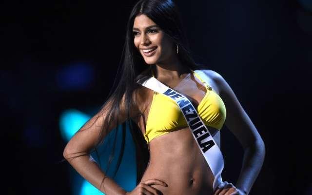 7f3621132 Sthefany Gutiérrez de Venezuela en la final de Miss Universe de 2018. Foto   AFP