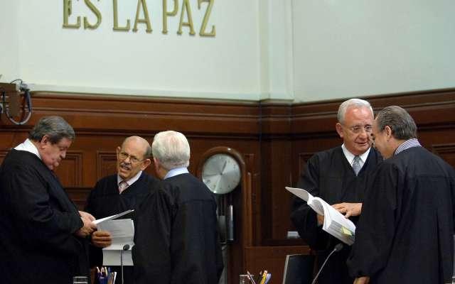 El juez Octavo de Distrito en Materia Administrativa, Fernando Silva, concedió la suspensión provisional a dos funcionarios judiciales. FOTO:ARCHIVO/ CUARTOSCURO