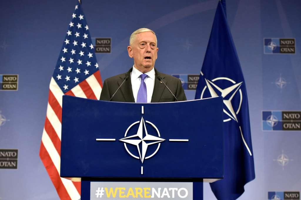En la imagen, el secretario de Defensa saliente de Estados Unidos, JamesMattis. FOTO: REUTERS