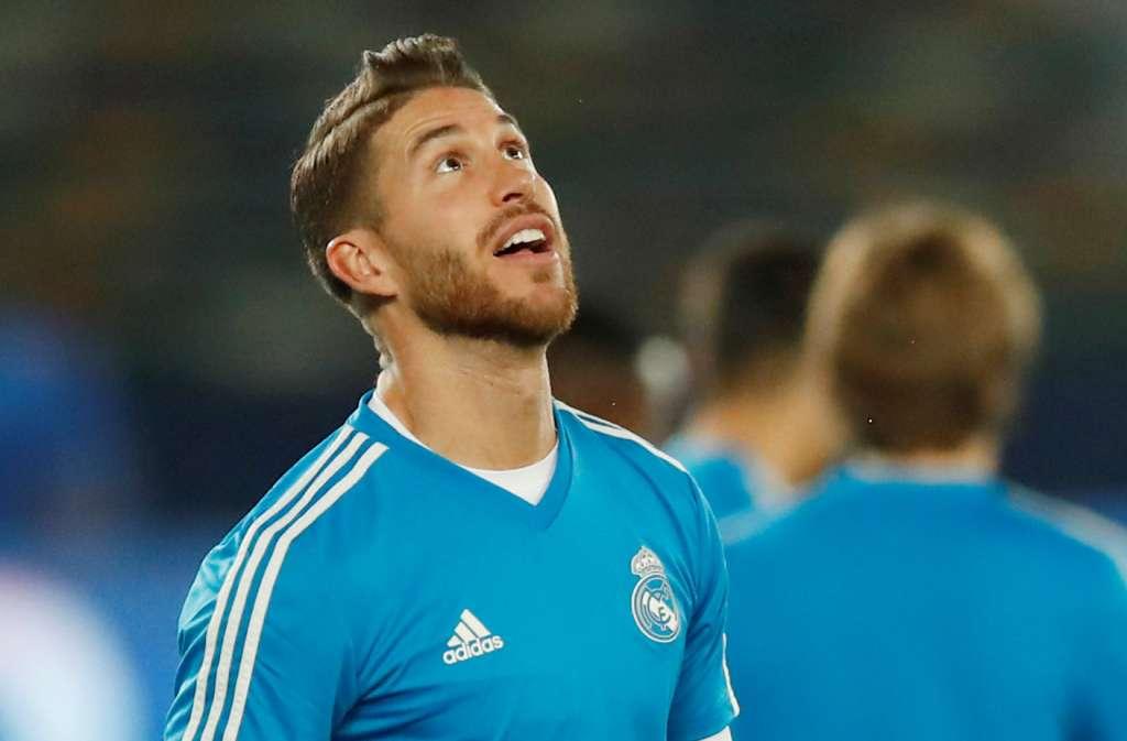CAPITÁN. Sergio Ramos está consciente de lo que se juega el Madrid este sábado. Foto:  REUTERS