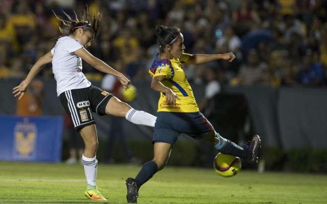RECUERDO. El torneo pasado, Tigres echó al América en la Liguilla. Foto: MEXSPORT