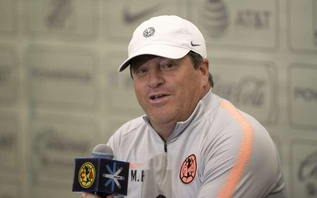 CORDURA. Miguel Herrera no siente odio por los Pumas, es mera rivalidad deportiva. Foto: MEXSPORT