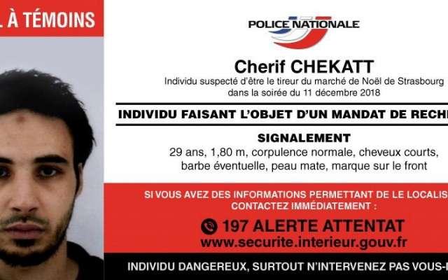 Chérif Chekatt mató a 3 personas. FOTO: EFE