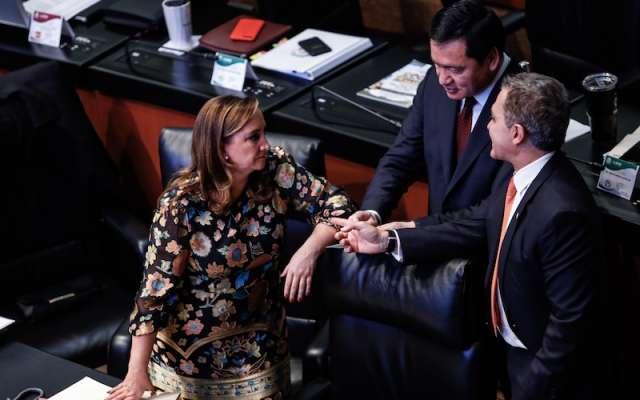 PRI y PRD son promotores del recurso. Foto: Nayeli Cruz / El Heraldo de México.