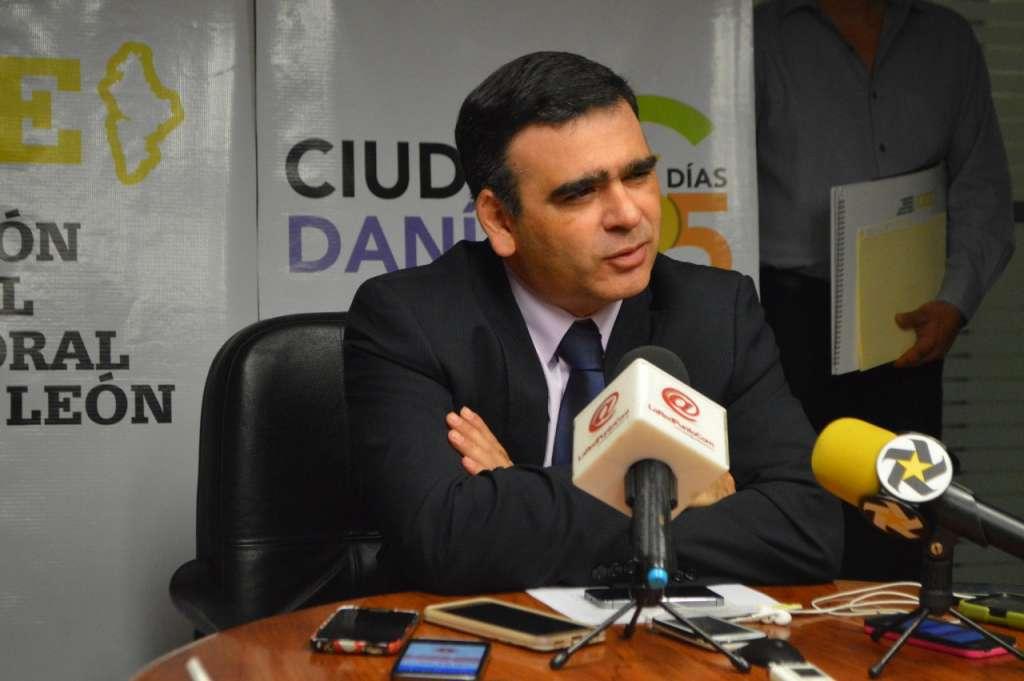 Garza agregó que el orden de los partidos en la boleta serán de acuerdo al orden en que fueron registrados