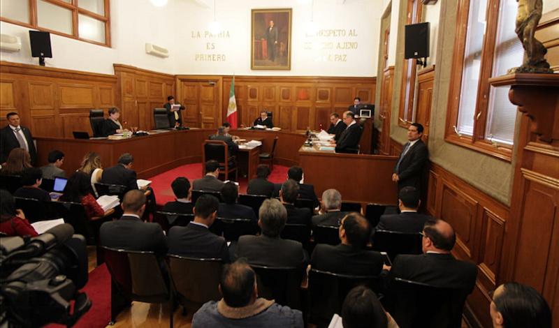Jueces, magistrados y secretarios argumentan que se vulnera la independencia judicial. Foto: Notimex