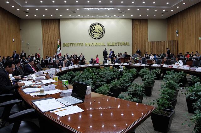 Sesión Extraordinaria del Consejo General del Instituto Nacional Electoral. (Archivo). Foto NOTIMEX