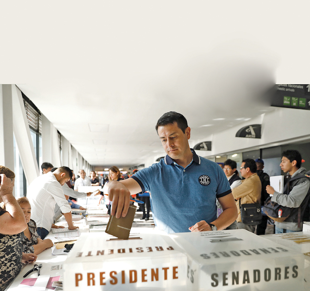 Salimos a votar / Anuario 2018 / País / Foto: Nayeli Cruz / El Heraldo de México