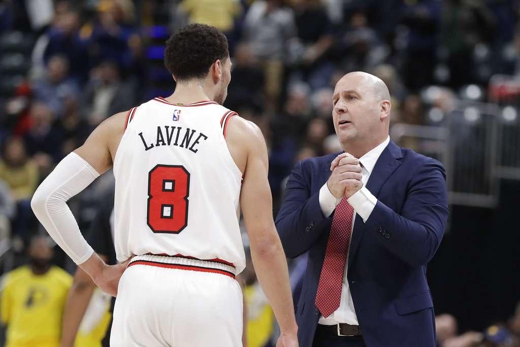 INICIO. Jim Boylen confía en salir adelante con los Bulls en lo que resta de la temporada. Foto: AP
