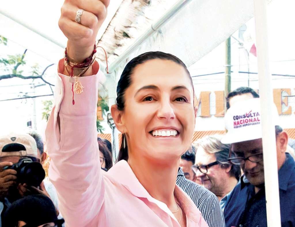 Claudia Sheinbaum, jefa de Gobierno de la CDMX / El Heraldo de México
