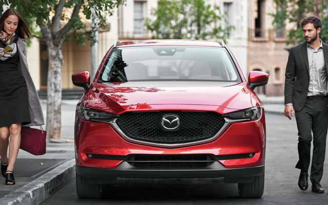 La línea de la Mazda CX-5 Signature permite apreciar todas sus virtudes. Foto: especial.