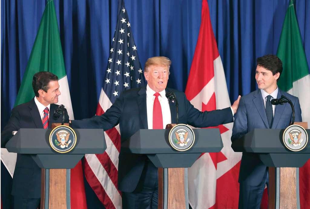 ESFUERZO. En el marco del G20, el 30 de noviembre se firmó el nuevo tratado trilateral. Foto: AP