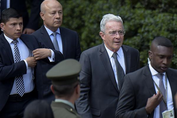 El expresidente colombiano condenó los hechos. FOTO: AFP