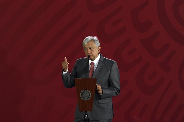 El Presidente indicó que el proceso para elegir magistrado esta en marcha. FOTO: NOTIMEX