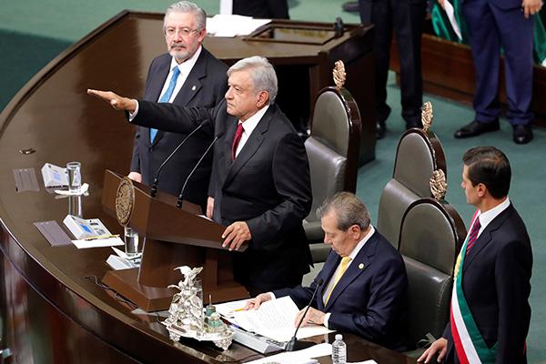 Tomó protesta como presidente de México. FOTO: ESPECIAL