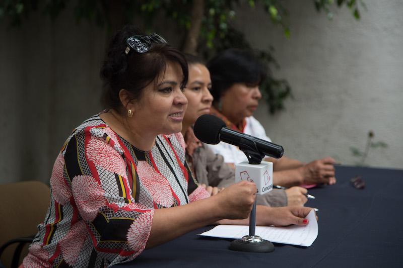 Nestora Salgado, Senadora de la República y ex presa política se une a otros activistas para conformar un Frente en Apoyo a seis indígenas de Tlanixco sentenciados a más de 50 años de cárcel por defender el agua para su comunidad. Archivo FOTOS: ILSE HUESCA /CUARTOSCURO.COM