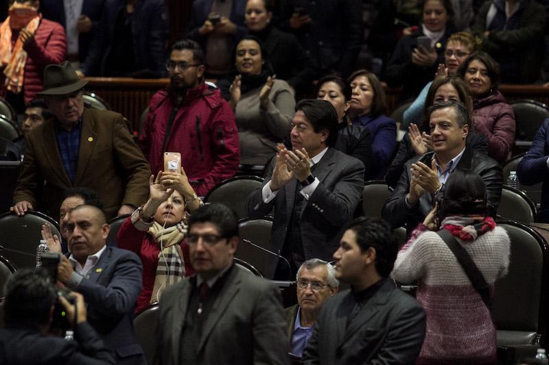La Cámara de Diputados aprobó esta madrugada, en lo general, el Presupuesto de Egresos de la Federación para 2019. FOTO: GALO CAÑAS /CUARTOSCURO.COM