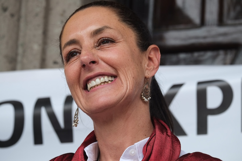 Claudia Sheinbaum fue activista estudiantil en sus inicios, después se sumó al PRD, partido en el que militó de 1988 a 2014. Foto: Cuartoscuro