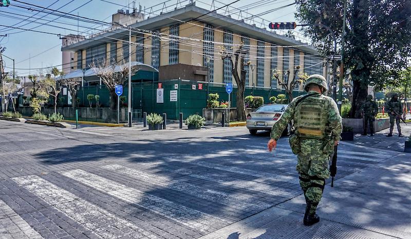 Imagen del Consulado Americano en Guadalajara, Jalisco. FOTO: CUARTOSCURO.COM