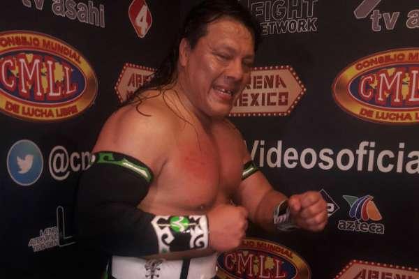 Último Guerrero se declara listo para el combate Foto: Especial