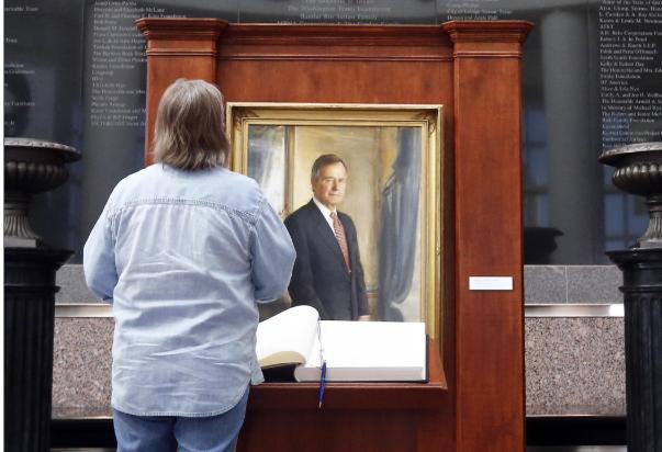 El último expresidente que recibió un homenaje póstumo en ese emblemático edificio fue Gerald Ford. FOTO: EFE