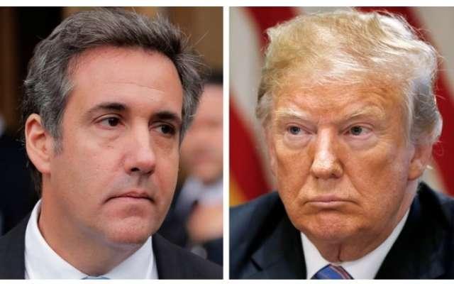 Donald Trump sugirió este lunes que su ex abogado personal Michael Cohen, que colabora con la Fiscalía especial en la investigación de la trama rusa. Foto: Reuters.