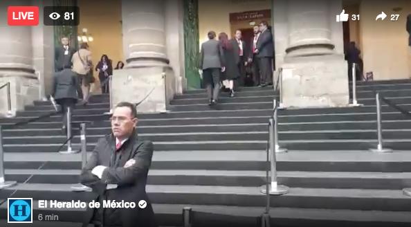 EN VIVO: Llegan diputados y alcaldes al Congreso para toma de protesta de Sheinbaum