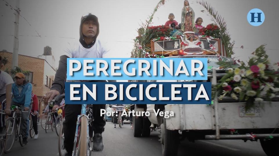 Peregrinar en bicicleta; rumbo a la Basílica