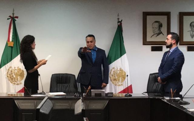 Andrés Peñaloza tendrá como objetivo la mejora del salario. FOTO:  @STPS_mx