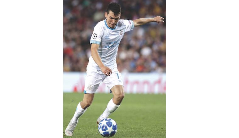 Lozano es el jugador mexicano con mayor ritmo en la campaña europea. FOTO: MEXPORT