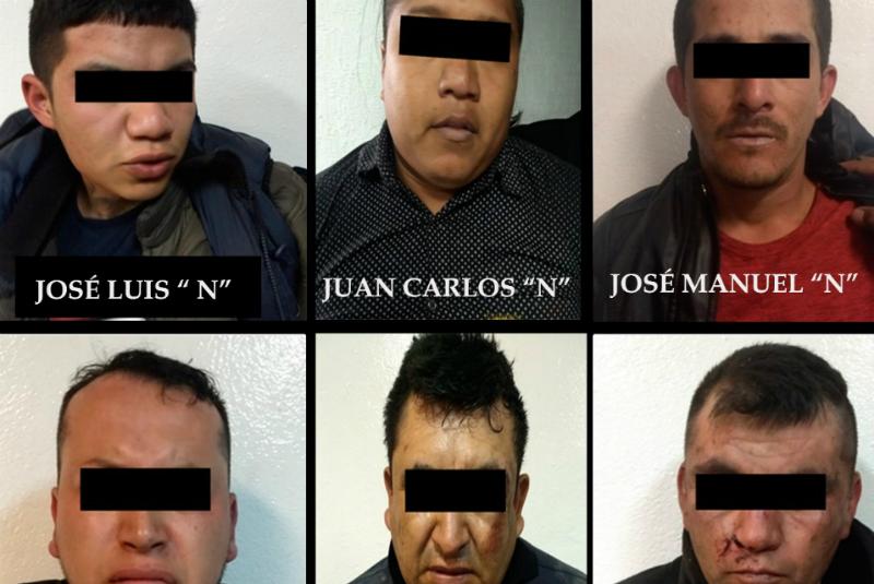 Al percatarse de la presencia de las unidades policiacas, los probables delincuentes a bordo de los automotores se dispersaron hacia la lateral de la autopista México - Puebla en dirección a la Ciudad de Méxic