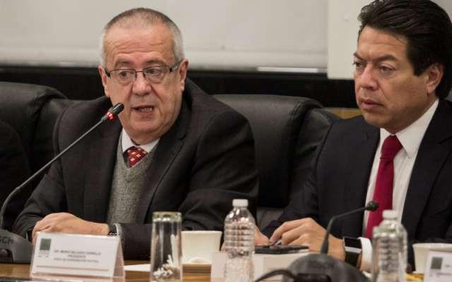 Además, detalló que previamente, en la sesión de mañana, el pleno cameral ratificará como secretario de Hacienda a Urzúa Macías