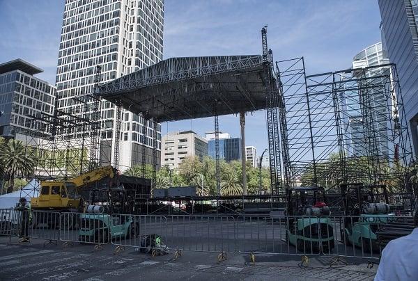 A la par de otras ciudades del mundo, la capital del país dará la bienvenida al 2019 con un festejo que tendrá artistas invitados. Foto: Edgar López