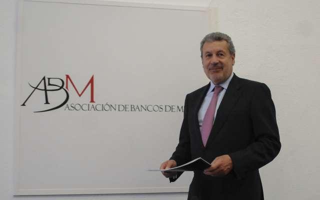 Marcos Martínez Gavica, presidente de la Asociación de Bancos de México (ABM).  FOTO: ARCHIVO/ CUARTOSCURO