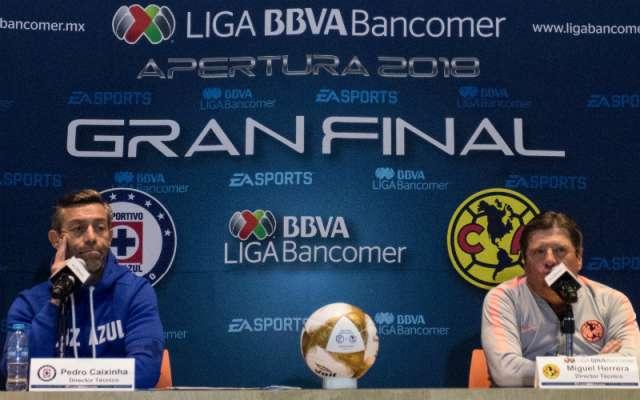 El técnico de Cruz Azul, el portugués Pedro Caixinha, dijo que América es un equipo que merece respeto, pero advirtió que su deseo es ganarle