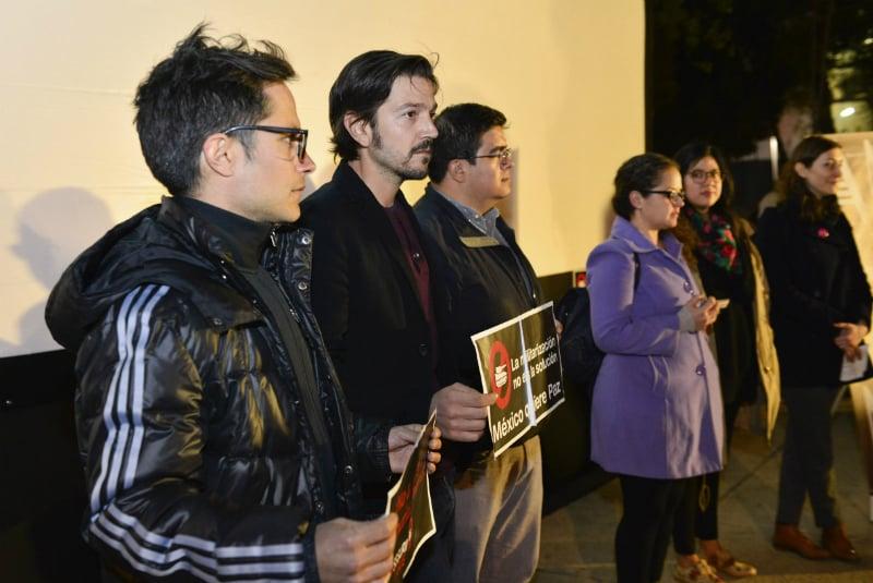 Los actores mexicanos se han caracterizado por un intenso activismo en el ámbito político FOTO: Cuartoscuro