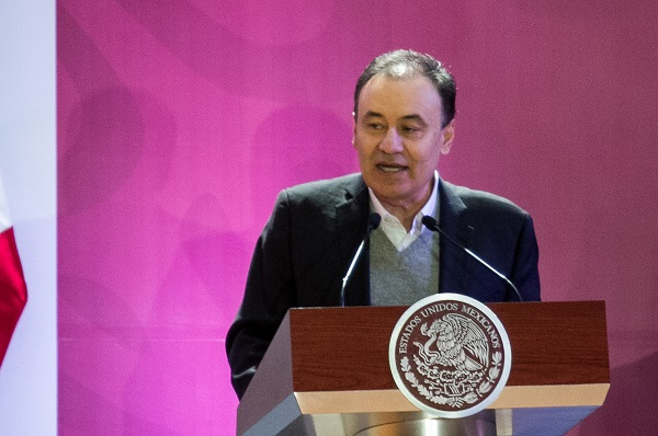 El secretario se prenunció por que el intercambio comercial y cruce de personas sea ágil y ordenado. Foto: Cuartoscuro
