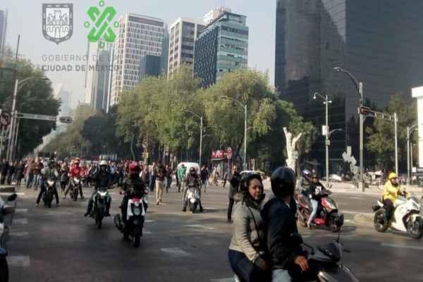 Las autoridades piden a los automovilistas tomar sus precauciones. Foro: Ovial